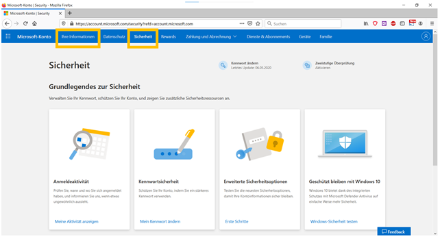 Anleitung mit allen Antworten rund um das Microsoft-Konto - Bild2