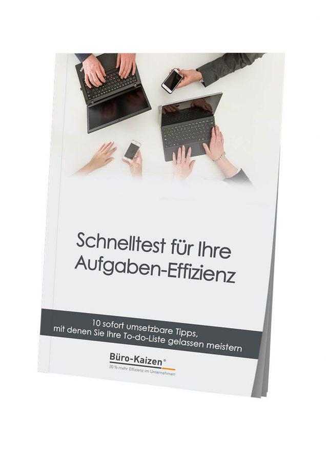 Schnelltest für Ihre Aufgaben-Effizienz - eBook