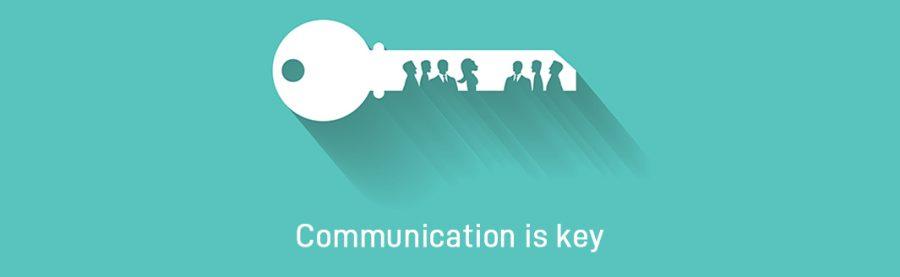 Für ein erfolgreiches Miteinander ist gute Kommunikation der Schlüssel zum Erfolg.