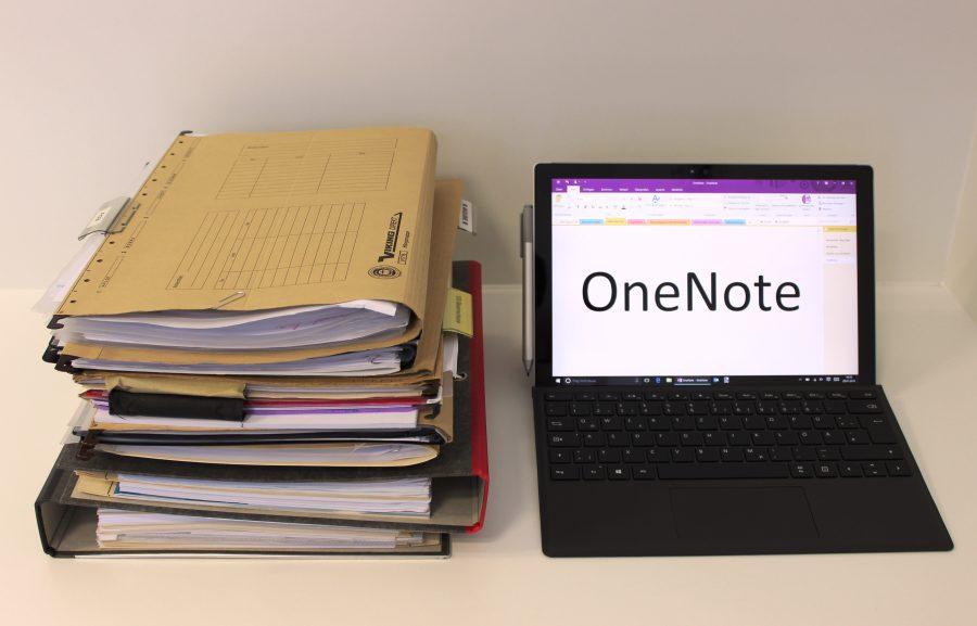 Das digitale Notizbuch OneNote ist der klassischen Papierablage in vielen Bereichen deutlich überlegen