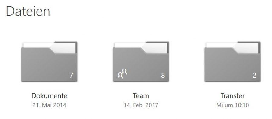Die drei OneDrive-Ordner für eine optimale Dateiablage