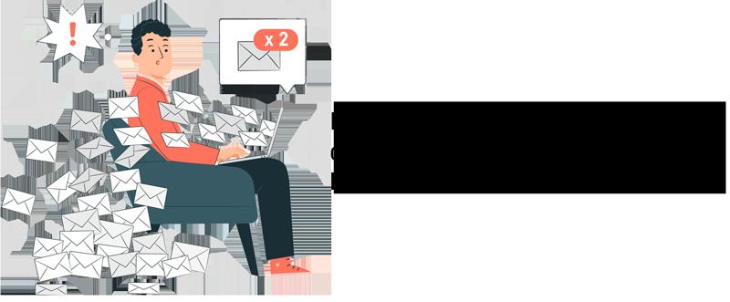 Verschicken Sie bestenfalls nur E-Mails, die relevant sind, da das E-Mail Aufkommen immer mehr ansteigt.