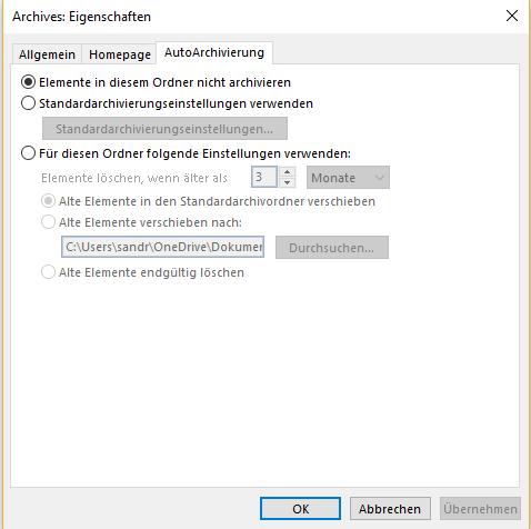gliederung_autoarchivierung_einstellungen_ordner_eigenschaften_autoarchivierung