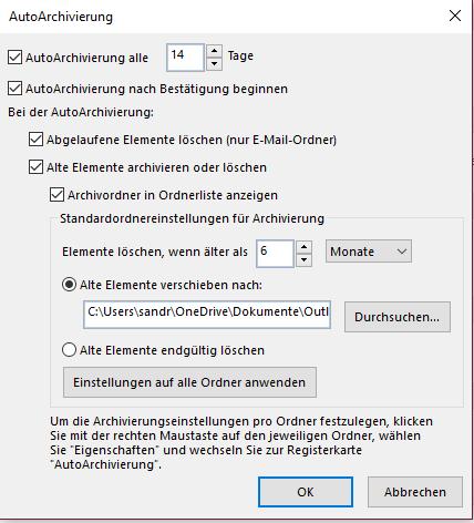 gliederung_autoarchivierung_einstellungen_vornehmen