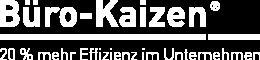 Logo_BueroKaizen weiß