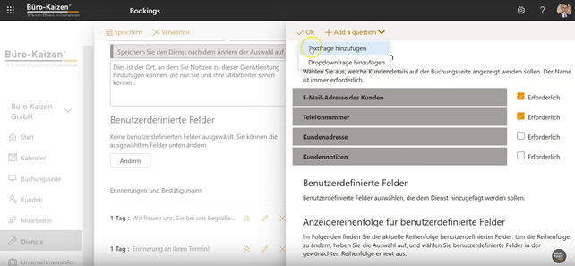 Microsoft Bookings - Anleitung für den Online-Buchungskalender - Bild 4