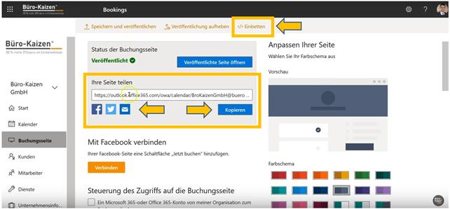 Microsoft Bookings - Anleitung für den Online-Buchungskalender - Bild 7
