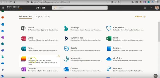 Microsoft Lists - Einführung mit Video-Tutorial und Praxisbeispiel - Bild 1