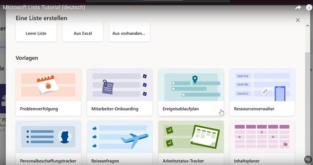 Microsoft Lists - Einführung mit Video-Tutorial und Praxisbeispiel - Bild 2