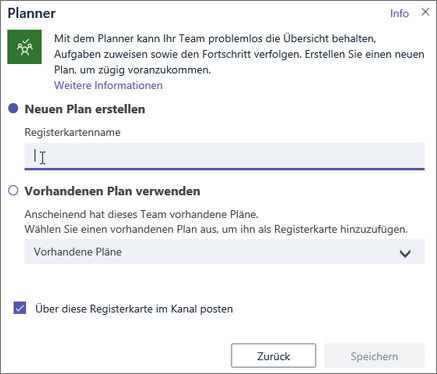 Microsoft Planner Integrieren