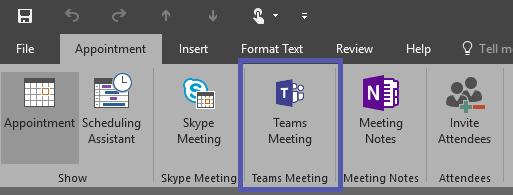 Microsoft Teams Besprechung Add-In