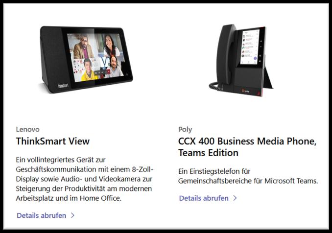 Microsoft Teams-Displays - die neuen Bildschirm-Geräte im Überblick - Bild 1