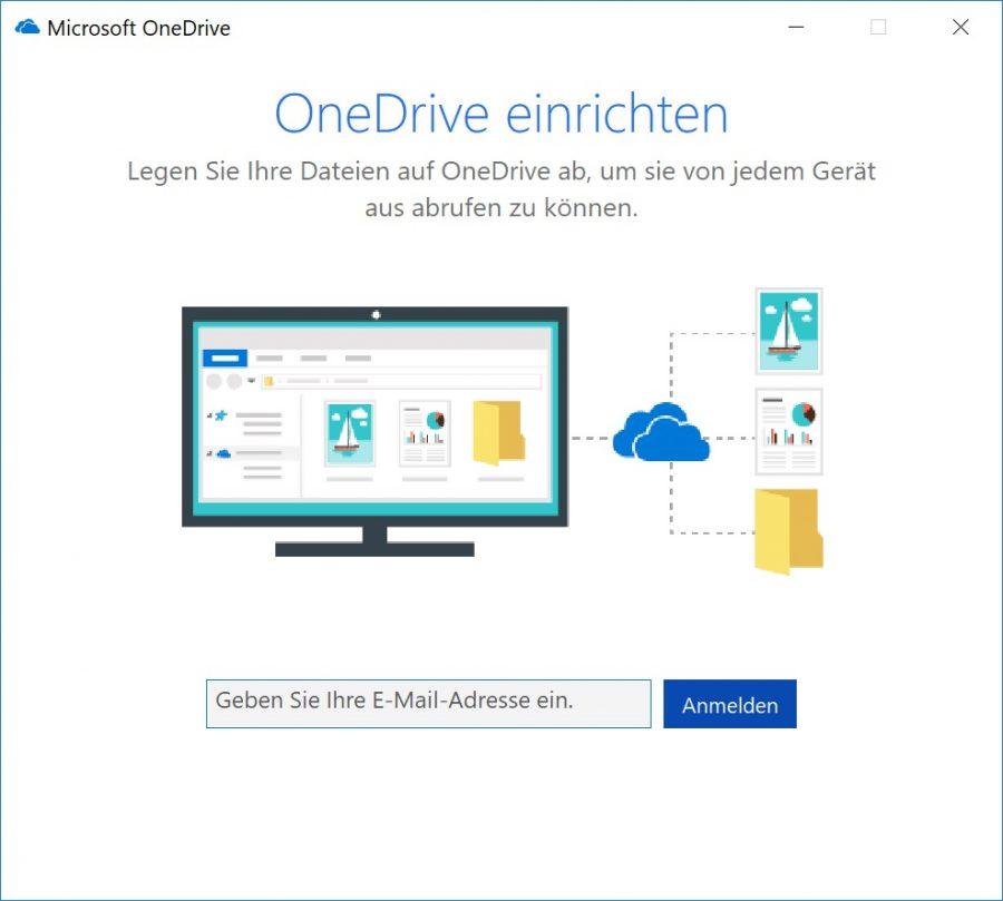 OneDrive einrichten