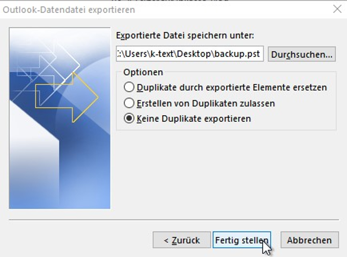 Outlook-Adressbuch exportieren-kennwort-verschluesseln