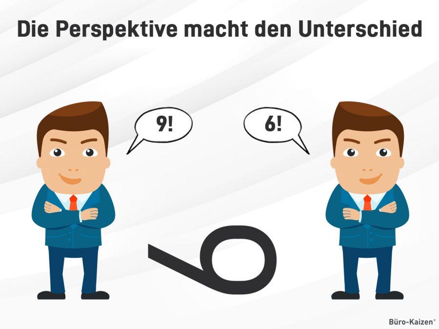 Die Perspektive kann über die unterschiedliche Auffassung von Informationen entscheiden.