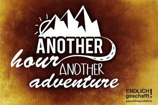 Ein eues Abenteuer planen