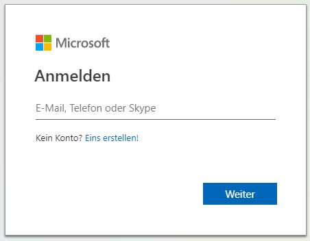 an-onenote-senden-anmeldung-microsoft-konto