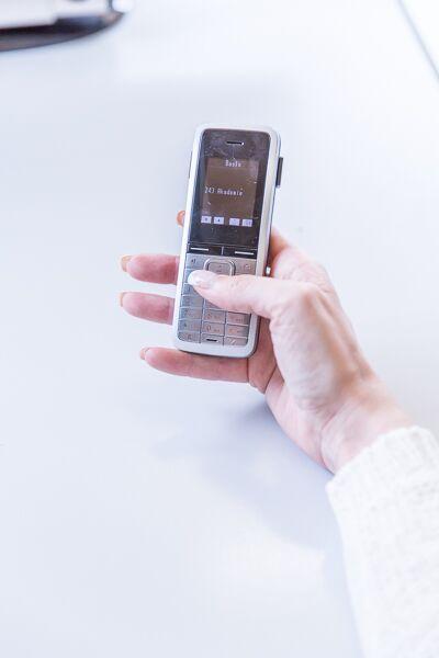 Anrufbeantworter Text als Mehrwert sehen