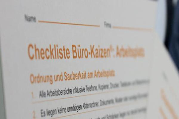 Arbeitseffizienz schaffen durch Checklisten
