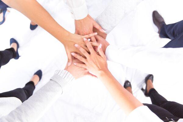Arbeitslast gemeinsam als team lösen