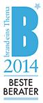 Auszeichnung Beste Berater brand-eins 2014