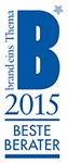 Auszeichnung Beste Berater brand-eins 2015