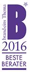 Auszeichnung Beste Berater brand-eins 2016