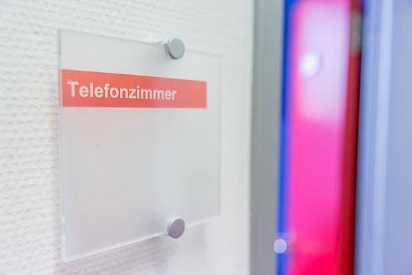 Büroausstattung Telefonzimmer