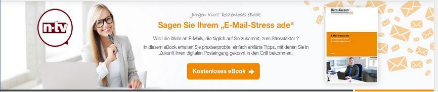 Dem E-Mail-Stress ade sagen und die Büroorganisation entstressen.