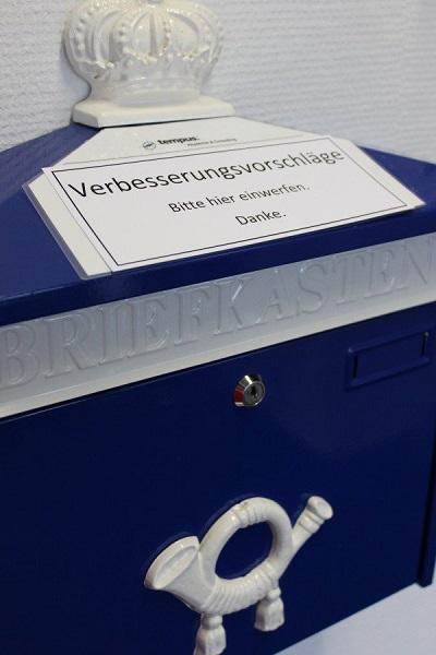 Betriebliches Vorschlagswesen Briefkasten