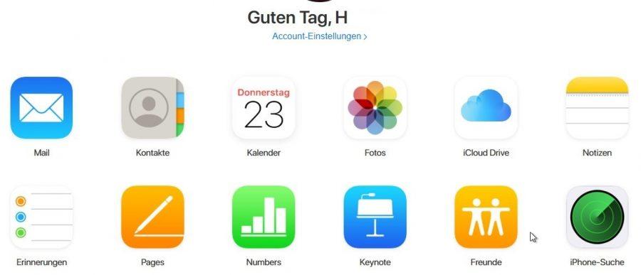 bilder-von-iphone-auf-pc-icloud-startbildschirm