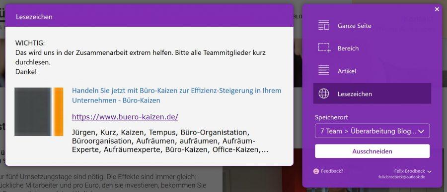 buero-kaizen-kommentar-webclipper