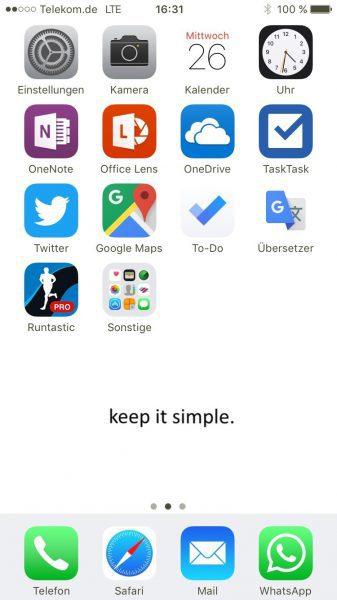 Digitaler Minimalismus auch am Smartphone