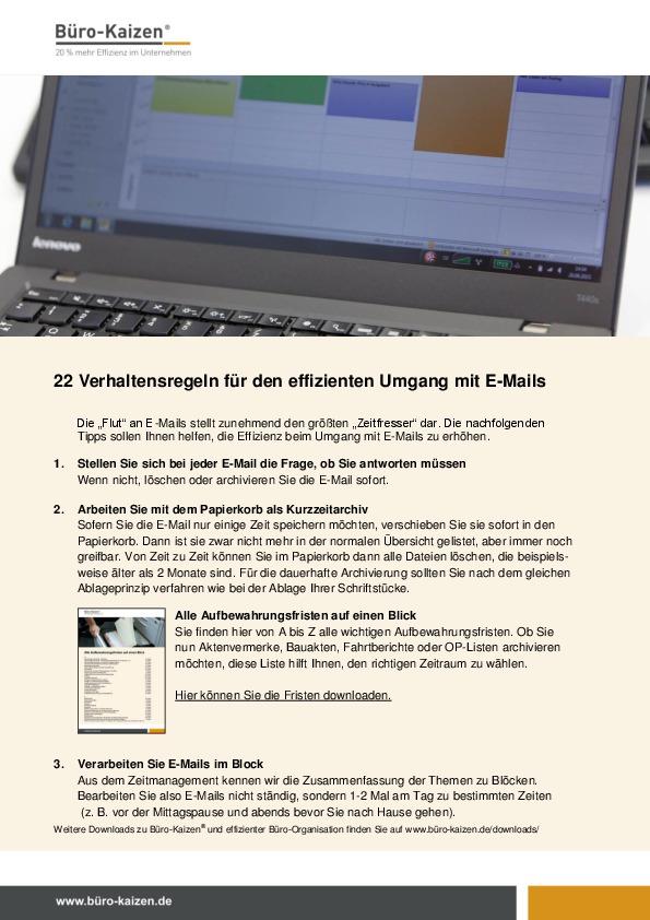 22 Verhaltensregeln für effizienten Umgang mit E-Mails-thumbnail