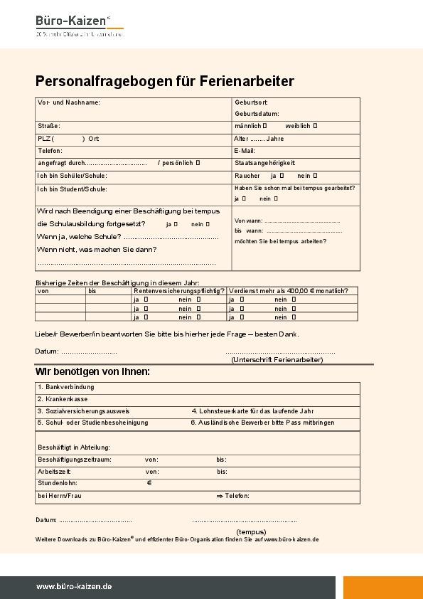 Küchenordnung Büro Vorlage ~ praxiserprobte checklisten, tipps und anleitungen zum download büro kaizen