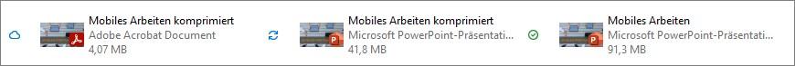 Durch das komprimieren Ihrer Bilder können Sie PowerPoint-Dateien um die Hälfte des Speicherplatzes verkleinern.