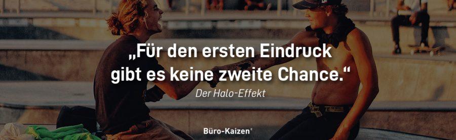 Es gibt nur einen ersten Eindruck. Der Halo-Effekt ist überall anzutreffen: Ob im Berufsleben oder privat, machen Sie sich das Phänomen zunutze!