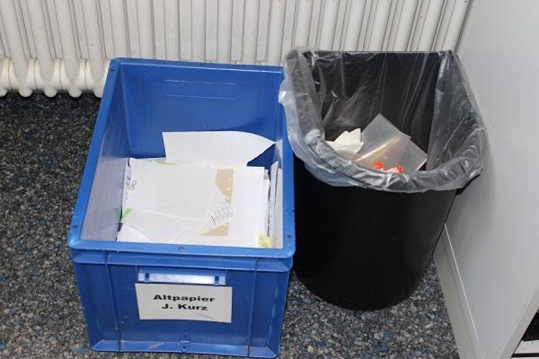 Für das Ausmisten Müllentsorgung verbessern