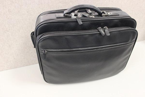 gepackte tasche für den vortrag