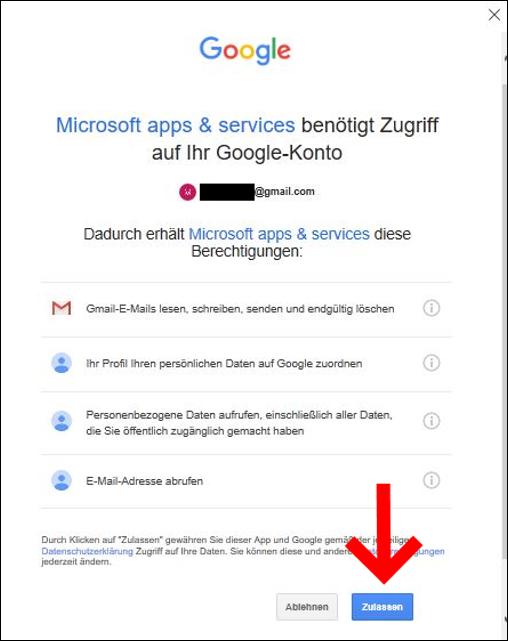 gmail-in-outloook-einrichten-freigabe-erteilen