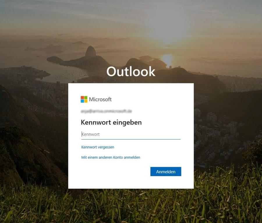hotmail-posteingang-oeffnen-mit-outlook-anmeldebildschirm-passworteingabe