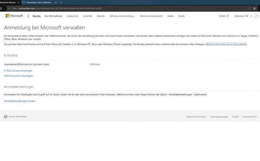 hotmail-posteingang-oeffnen-mit-outlook-verwalten-der-anmeldung-microsoft