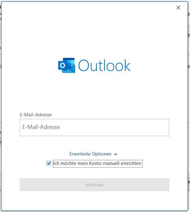 imap-outlook-konto-hinzufuegen-emailadresse-eingeben