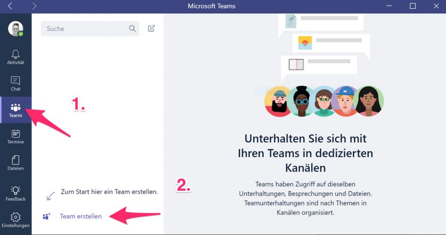 ipad-teams-neues-team-erstellen