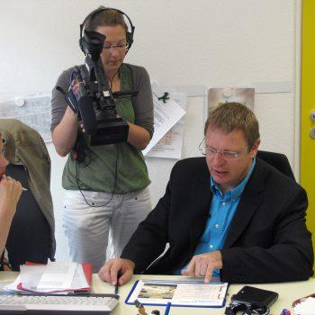 Jürgen Kurz bei TV- und Radiosendern