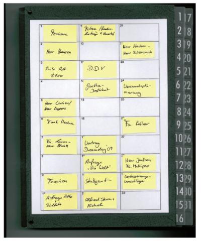 Klassisches System von Aufgabenplaner möglich