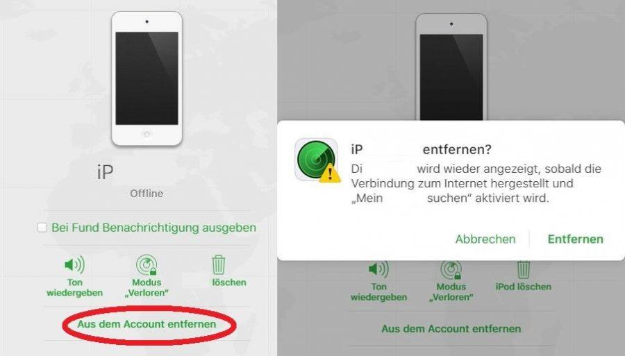 mein-iphone-suchen-deaktivieren-account-entfernen