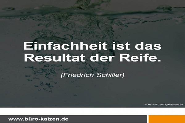 Zitat Friedrich Schiller zu Methoden
