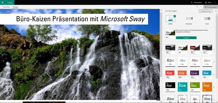 microsoft-sway-anleitung-formatvorlagen