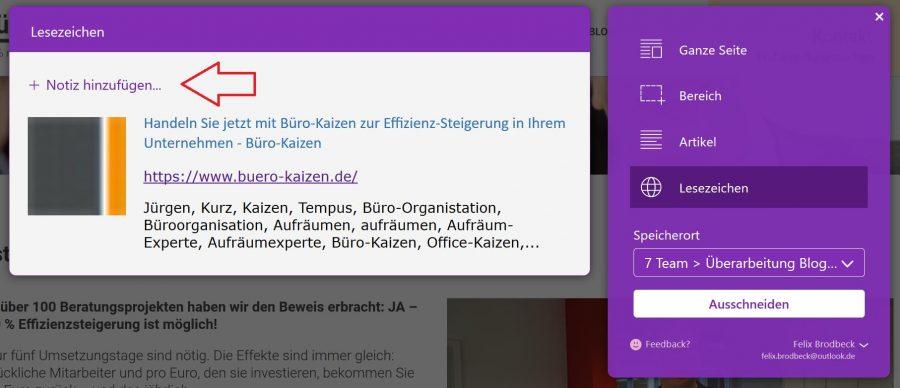 notiz-hinzufuegen-buero-kaizen